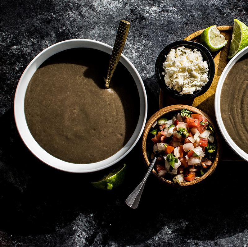 Black Bean Puree