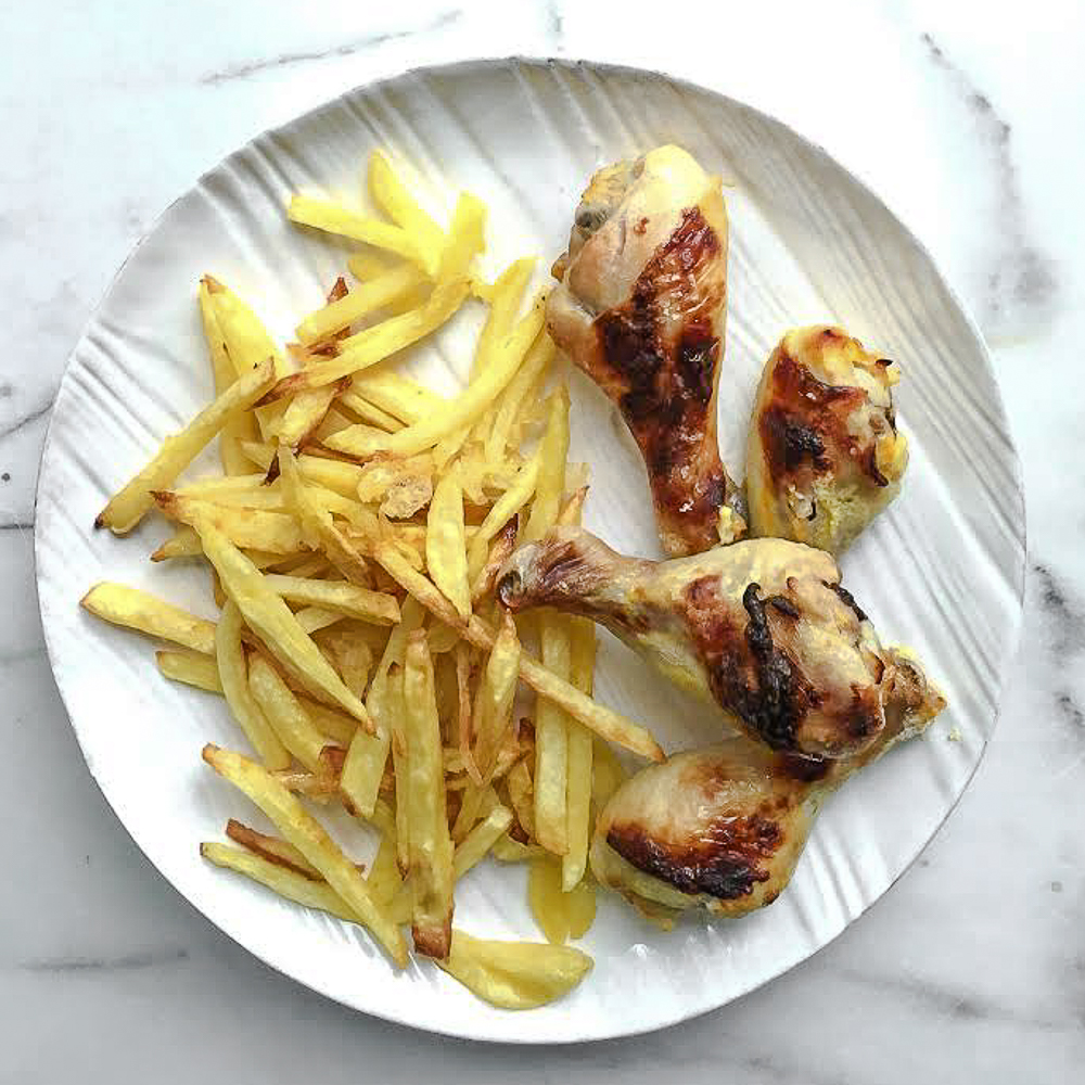 Oven-Baked Duck Fat French Fries