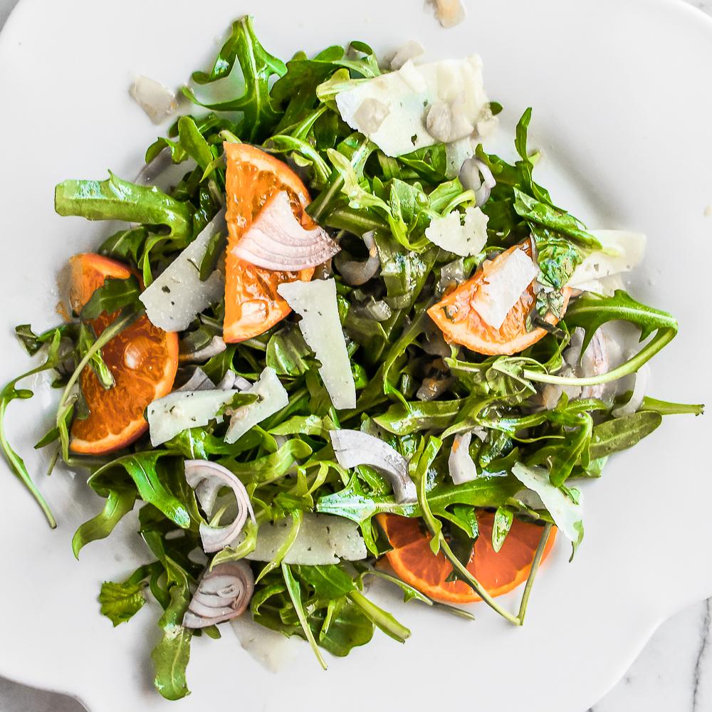 Arugula Orange Manchego Salad