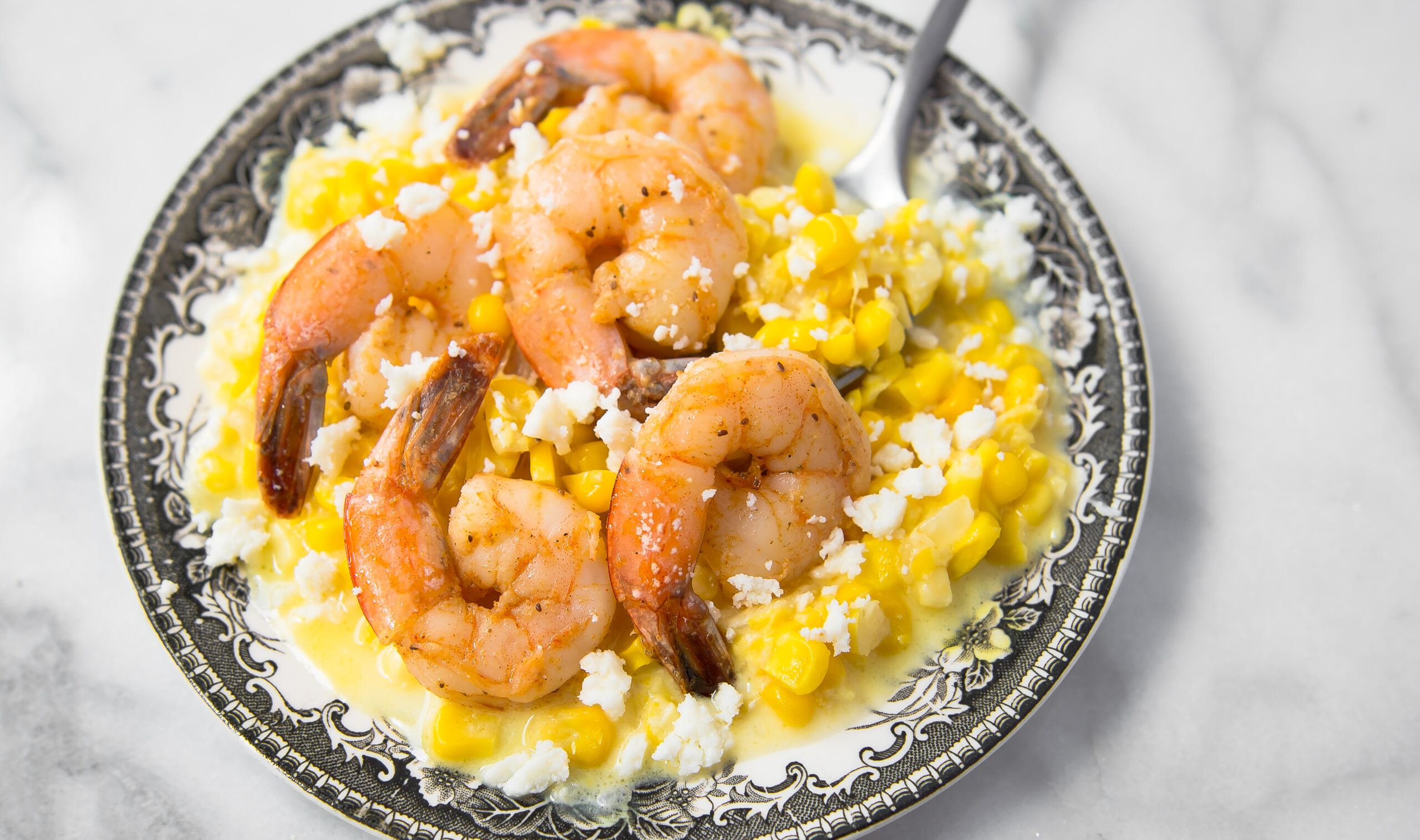 Creamed Corn with Old Bay Shrimp 12×7 (1 of 1)