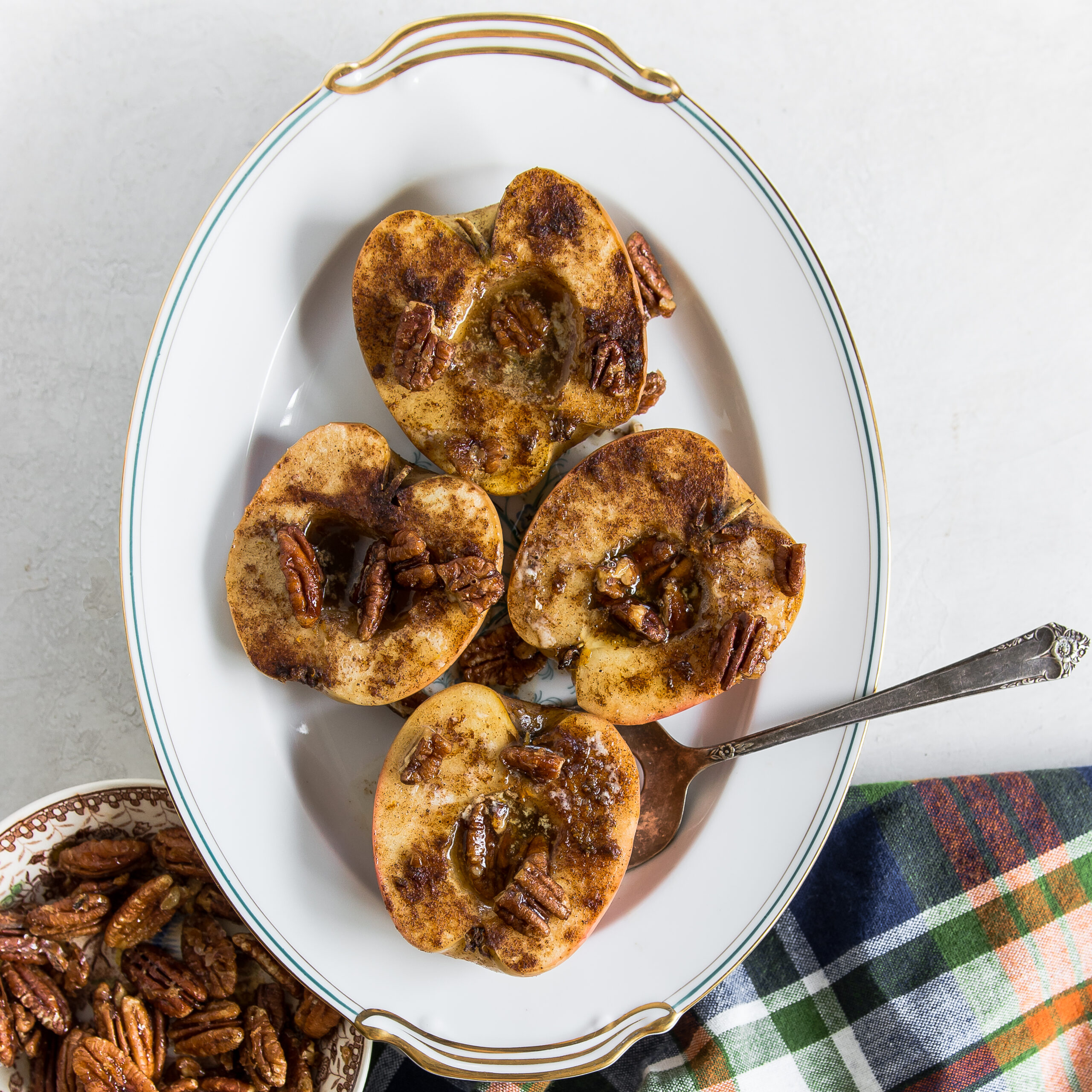 Spiced Brown Sugar Baked Apples 1×1 (1 of 1)