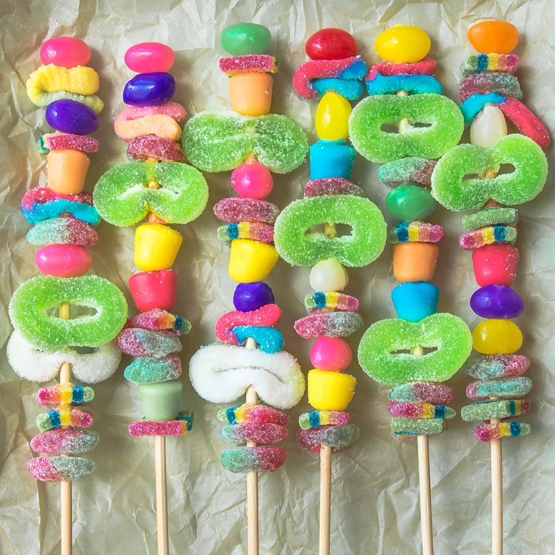 Candy Kebabs