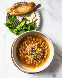 Cannelini Beans and Sage Soup