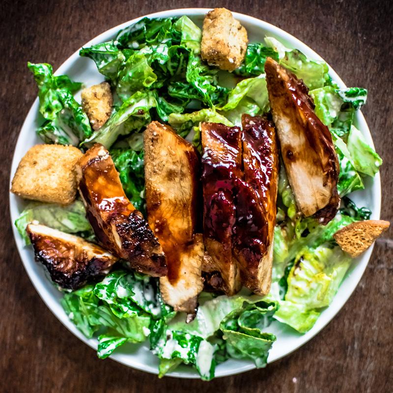 Gochujang Chicken Caesar Salad