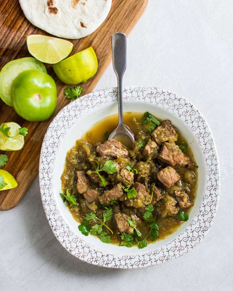 Hatch Chile Pork Stew