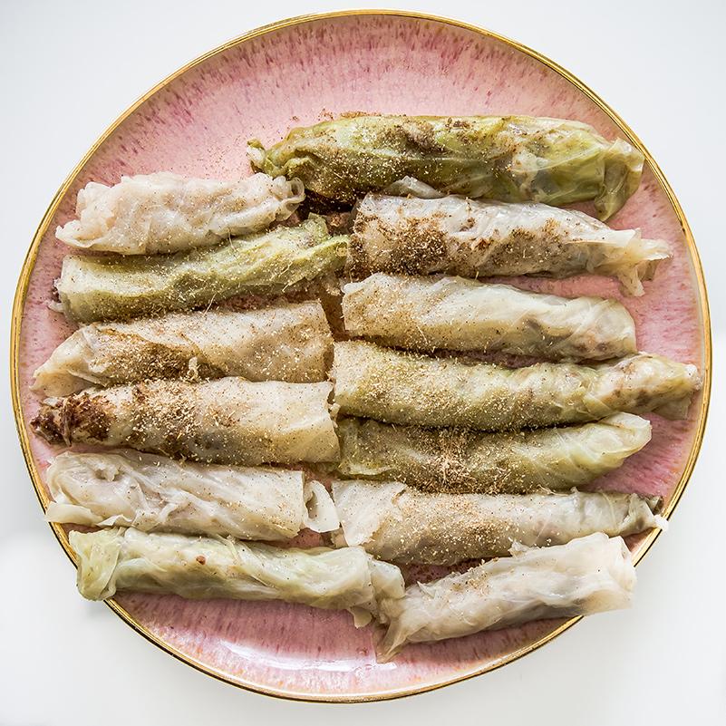 Malfouf (Cabbage Rolls)