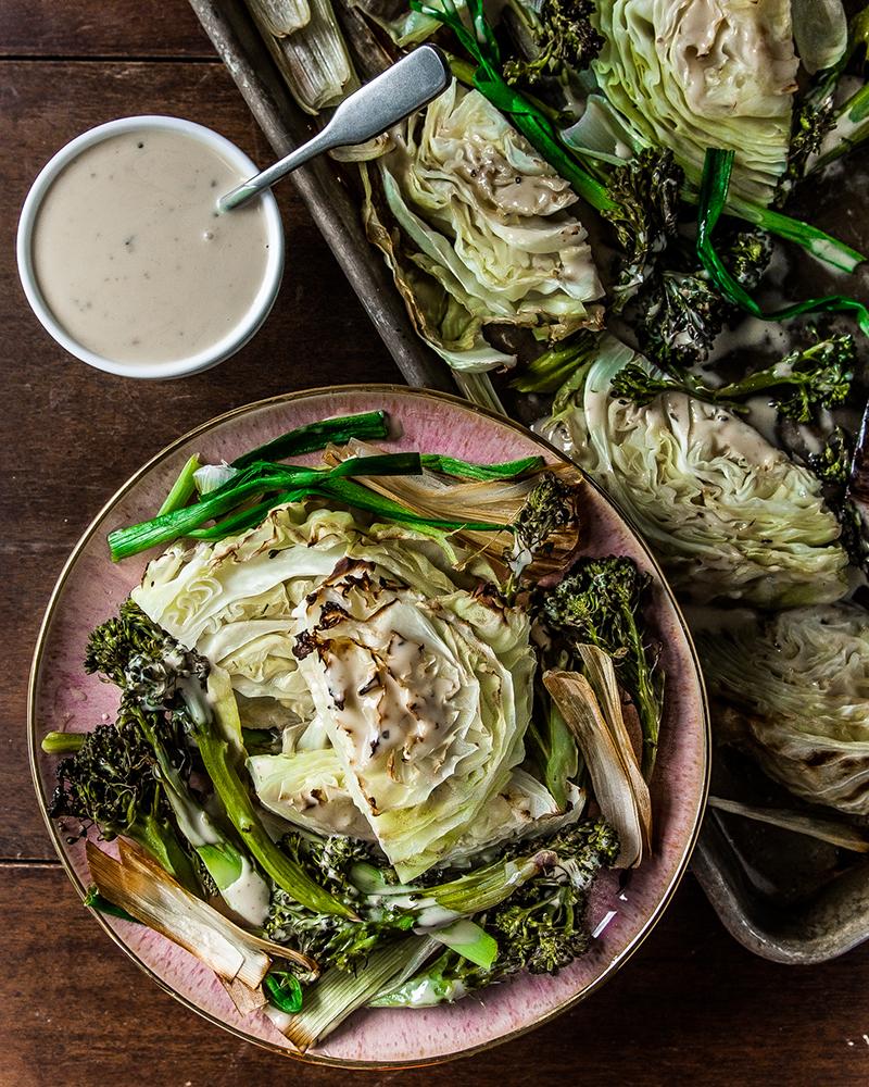 Roasted Caesar Salad