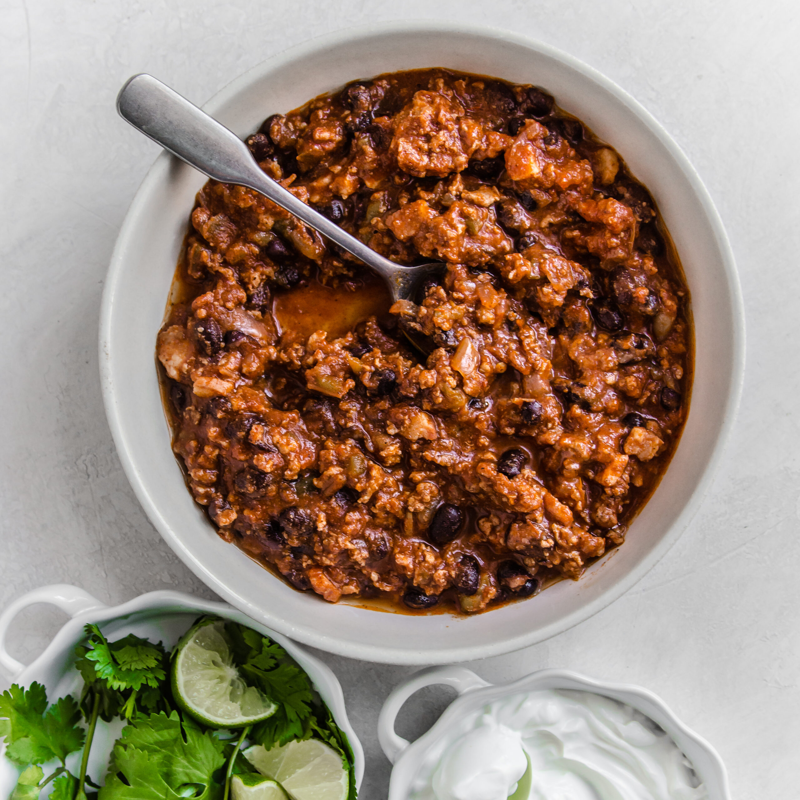 Ground Pork and Black Bean Chili 1×1 (1 of 1)