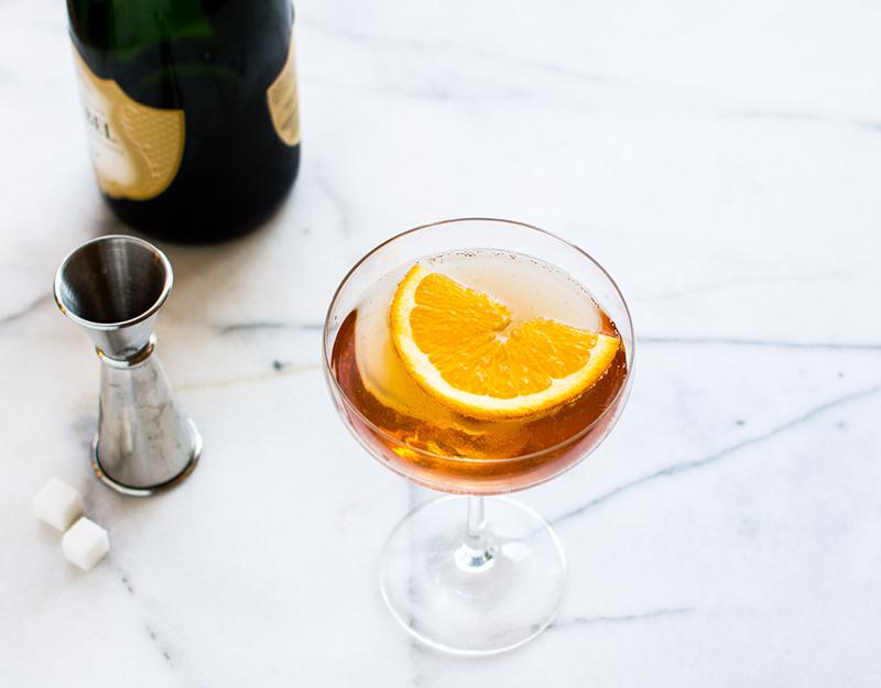 A Pleasant Little Menu   Bubbly Cocktails