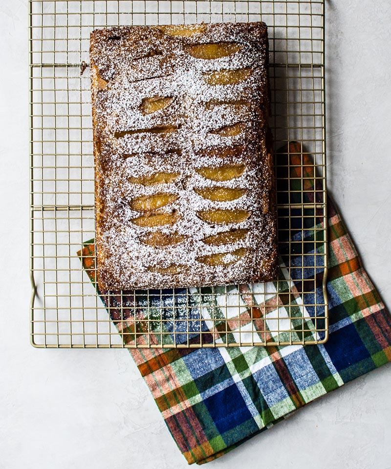 Spiced Apple Upside Down Cake