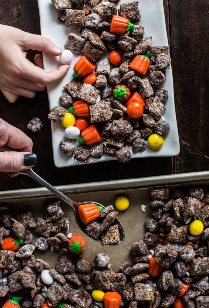 Spooky Halloween Puppy Chow