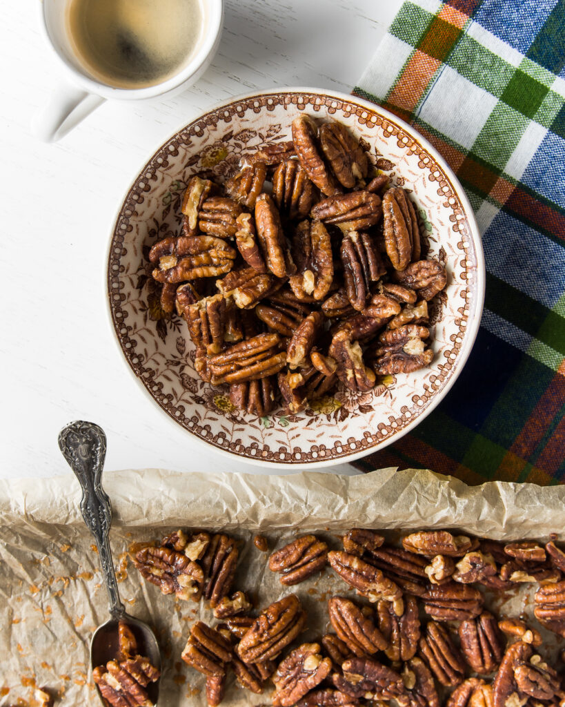 Maple-Brown Sugar Pecans