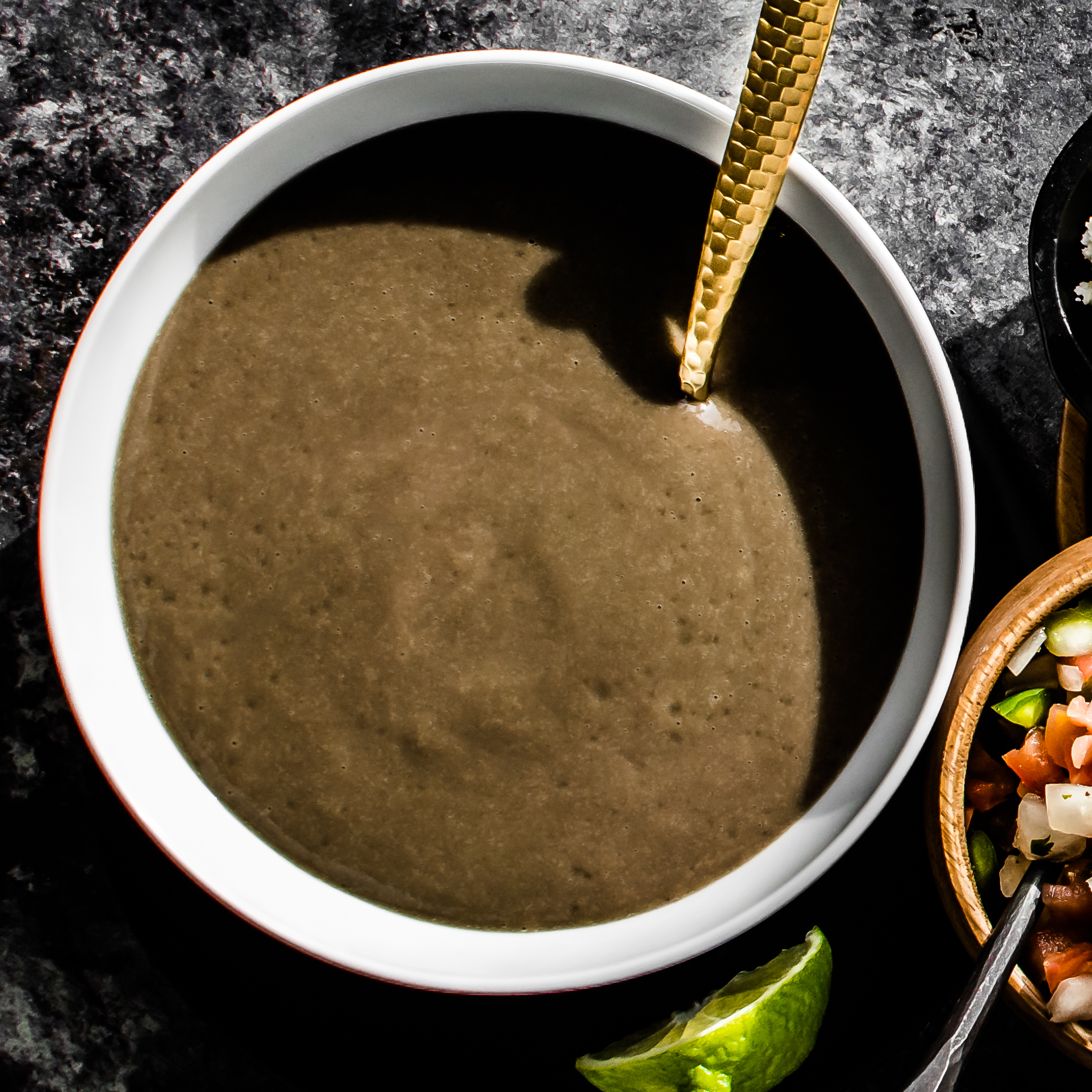 Blended Black Bean Soup 1×1 b (1 of 1)